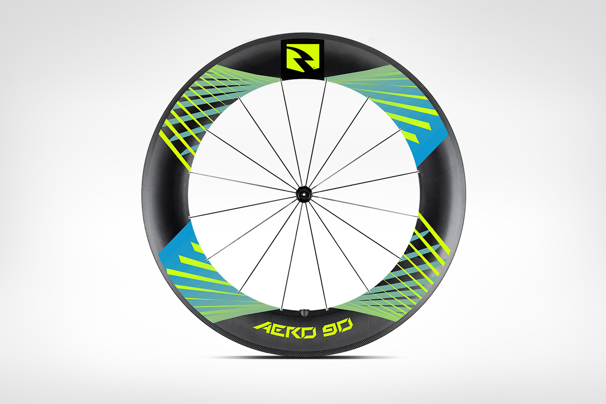 Reynolds Cycling Road Wheel Decal Graphic Design