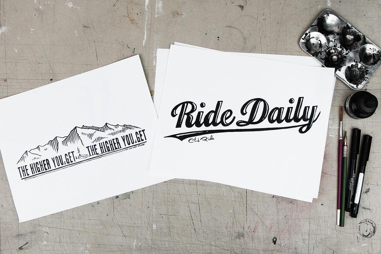 Club Ride t-shirt graphic design