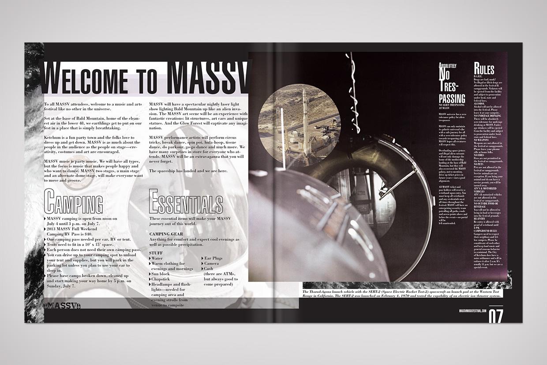 Massv print graphic design