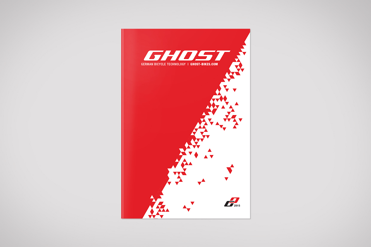 Ghost Bikes Lookbook graphic design