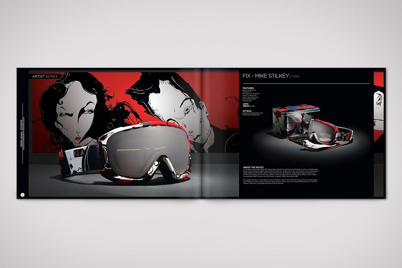Scott Sports Catalog Design