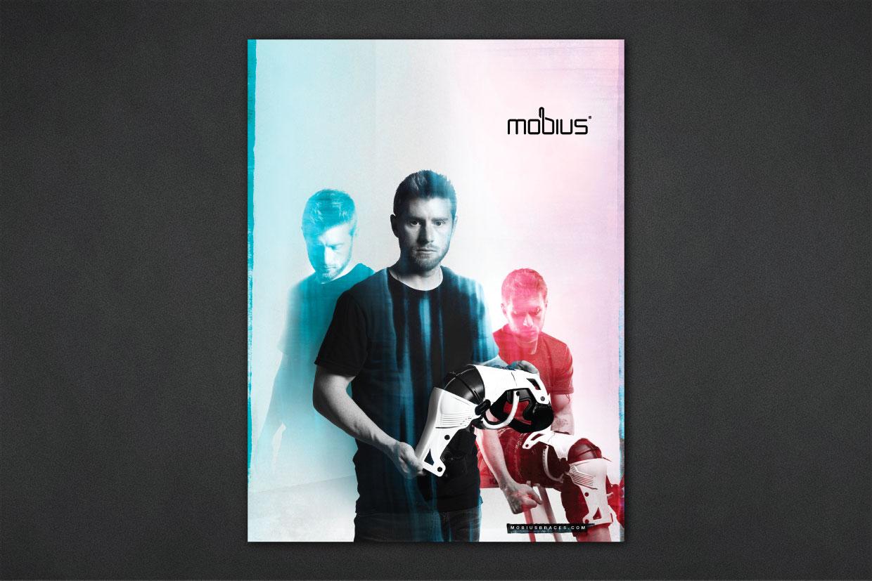 Mobius Knee Brace Print Advertising