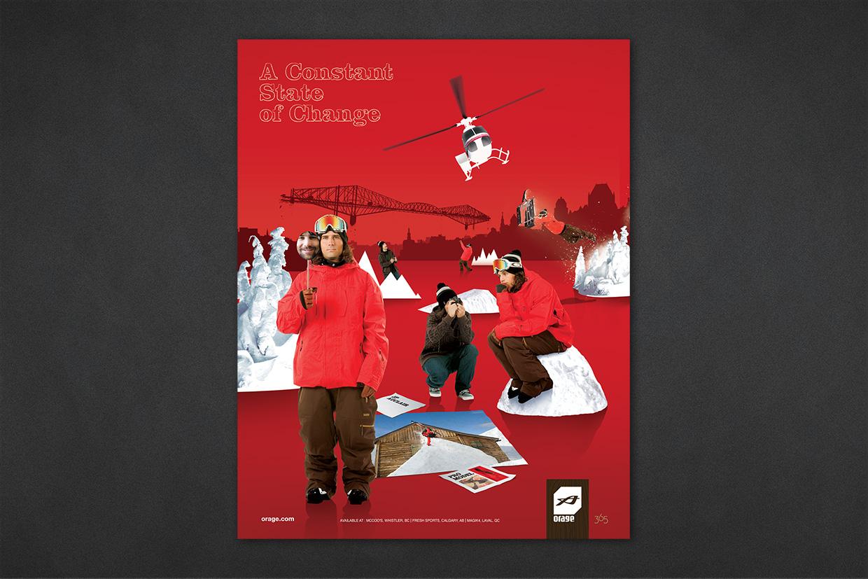 Orage Print Advertising Campaign