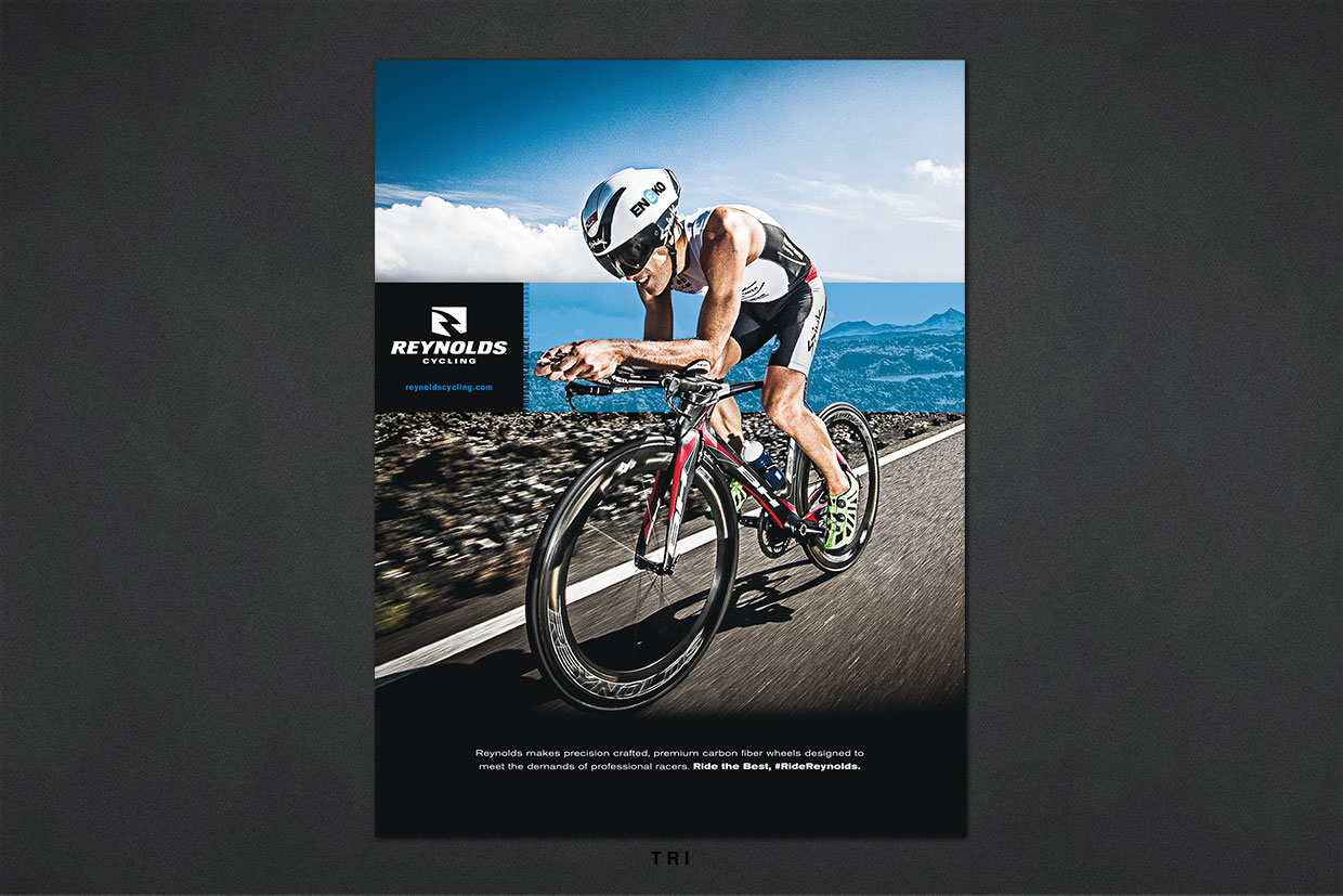 Reynolds Cycling Print Advertising Campaign