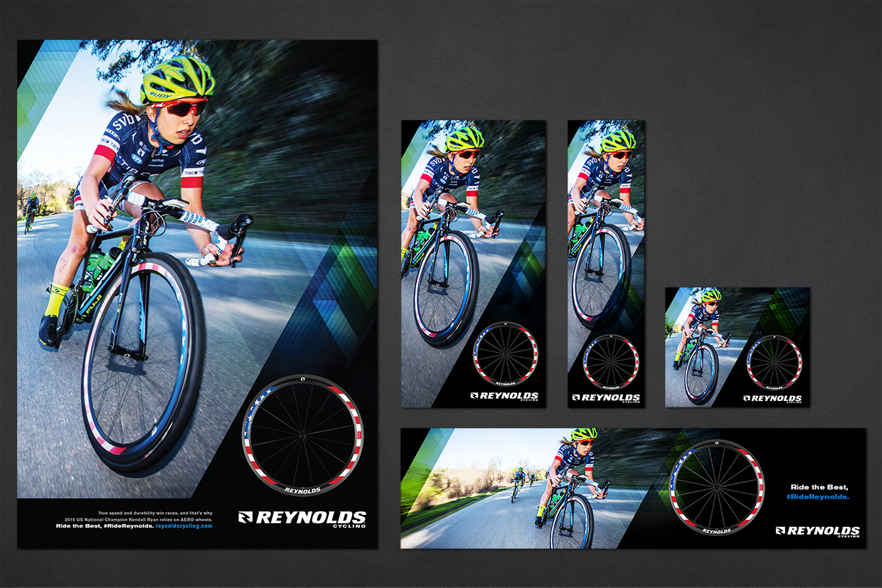 Reynolds Cycling Digital Advertising