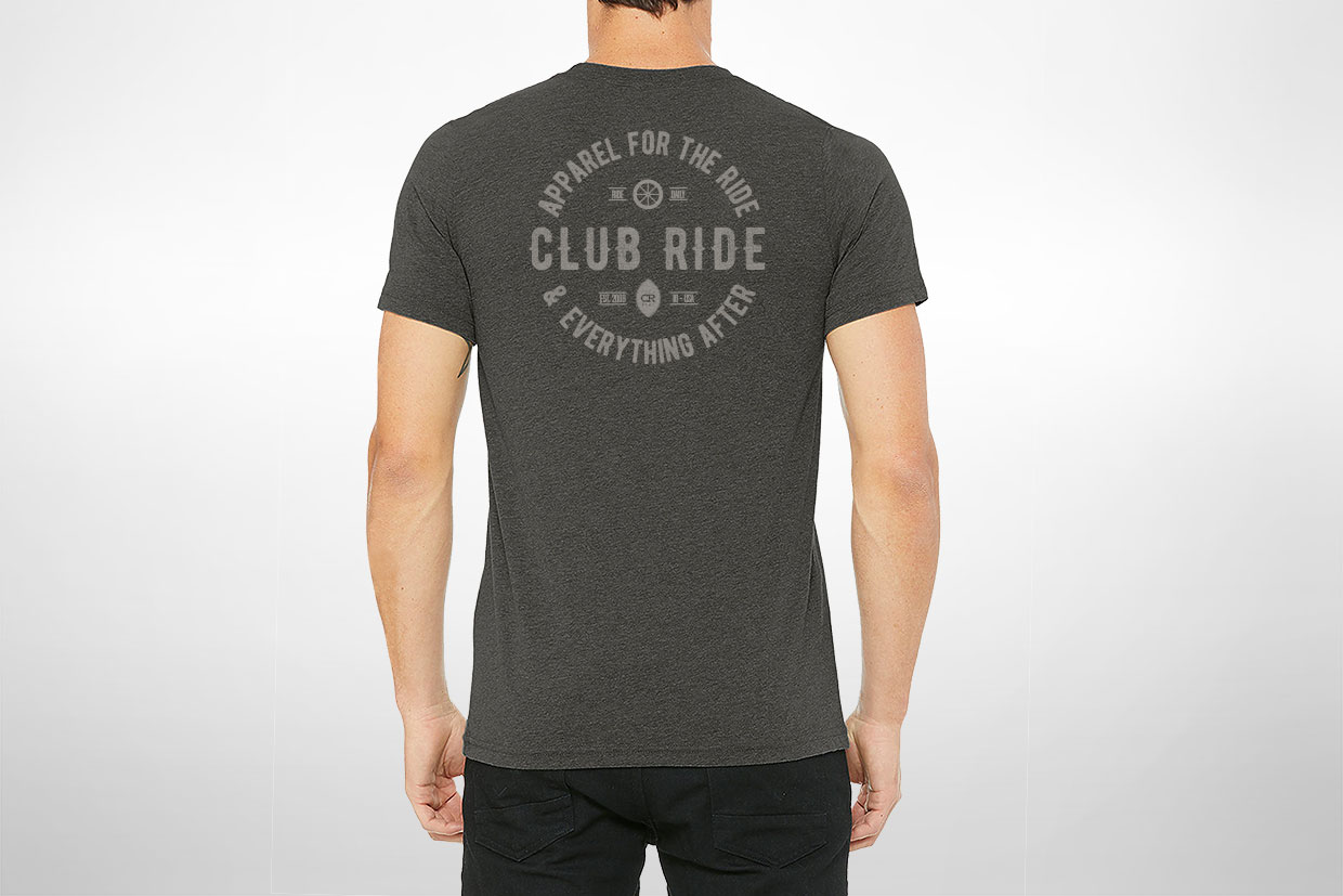 Club Ride t-shirt design