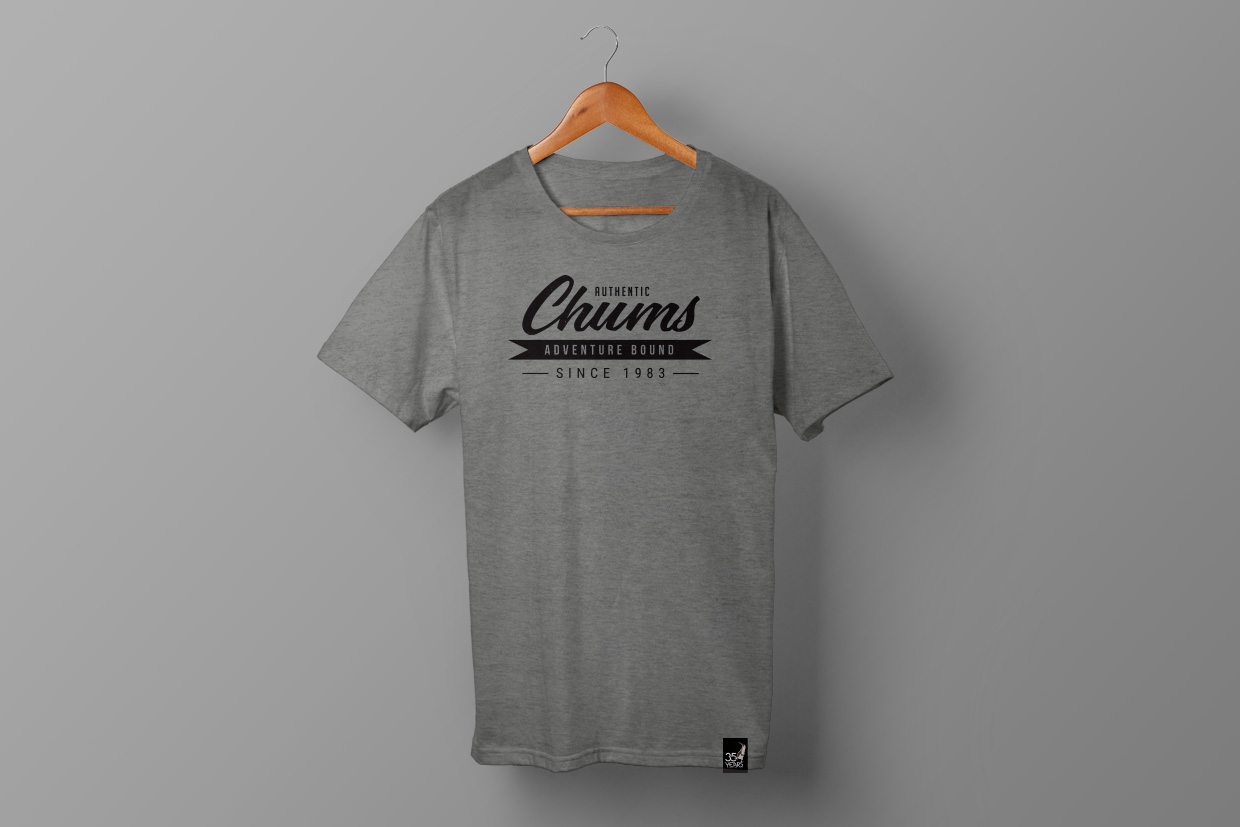Chums t-shirt design