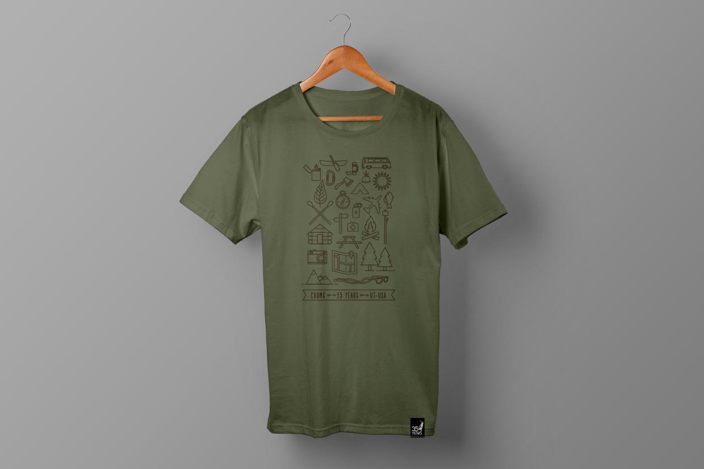 Chums t-shirt design
