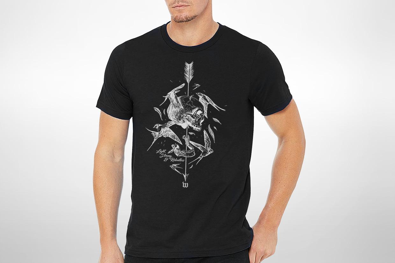 Wattie Ink. t-shirt design